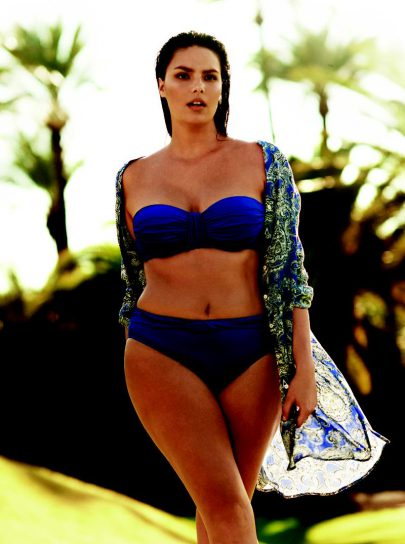 Candice Huffine Plus-size Model