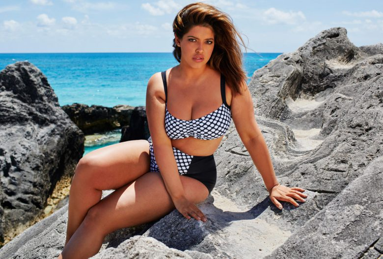 Denise Bidot Plus-size model