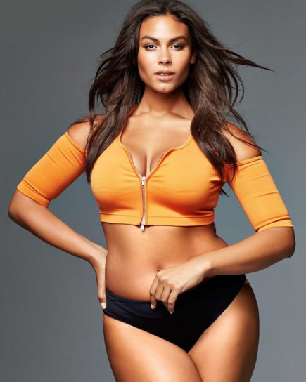 Marquita Pring Plus-Size Model