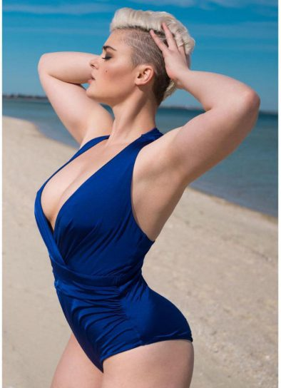 Stefania Ferrario is one of the hottest plus size models