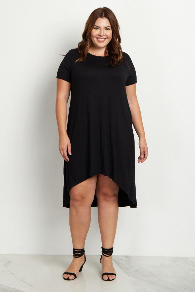 basic black dresses plus size 3