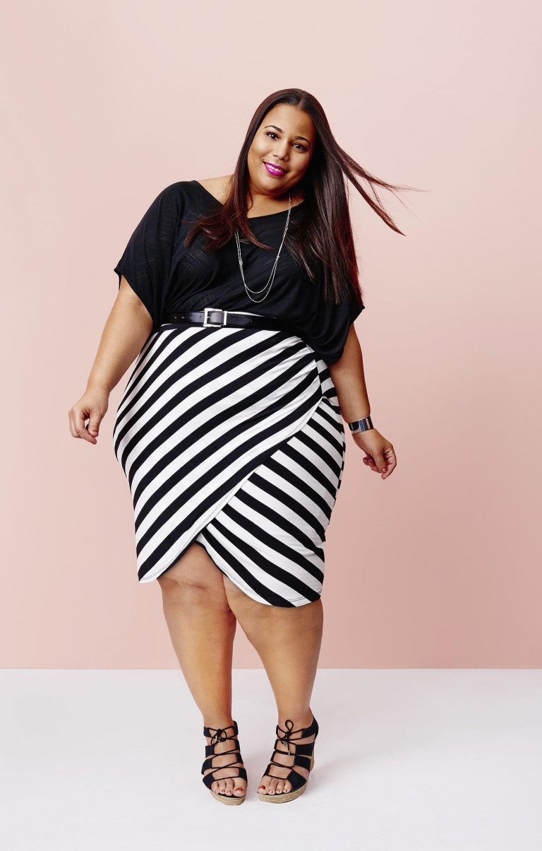 Hot new plus size fashion 69