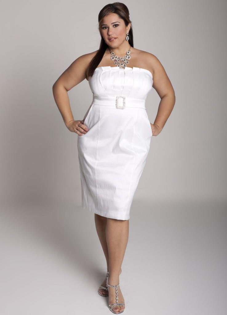 Plus Size Short Wedding Dresses