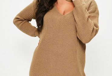 Plus Size Sweater Dress