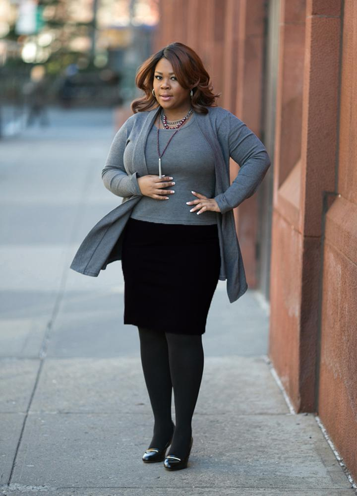 Plus size pencil skirts
