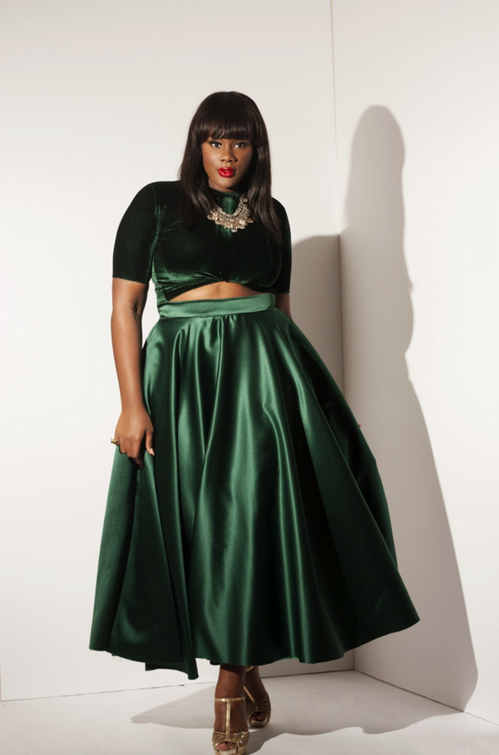 Plus Size Maxi Skirts