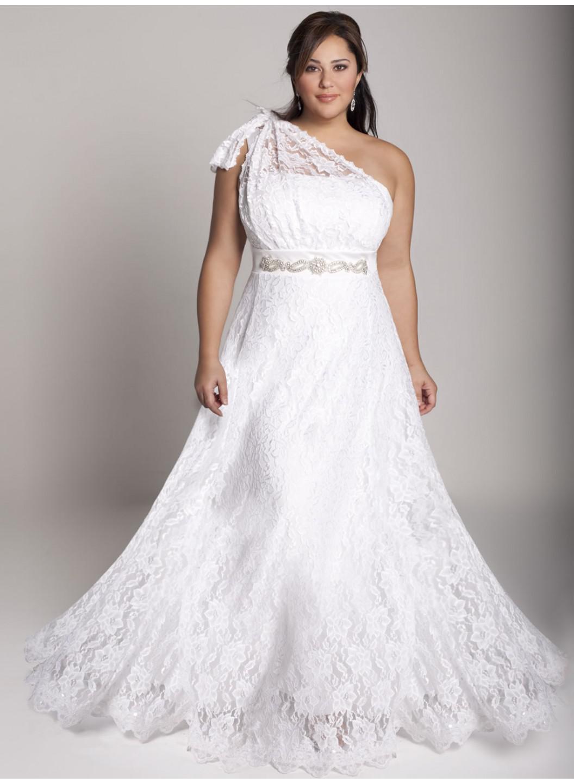 retro wedding dress plus size