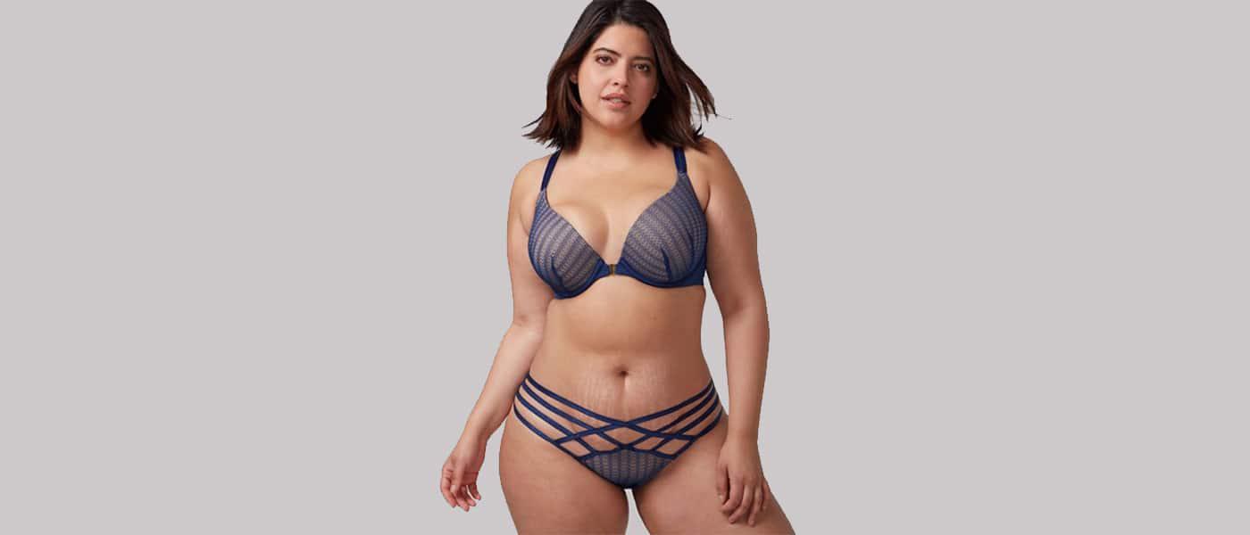 Plus Size Bikini Models - Denis Bidot